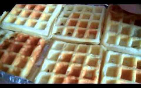 How to make: Homemade Freezer Waffles