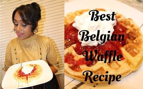 How to make best Belgian Waffle - Tamil Recipe | Must try for Kids