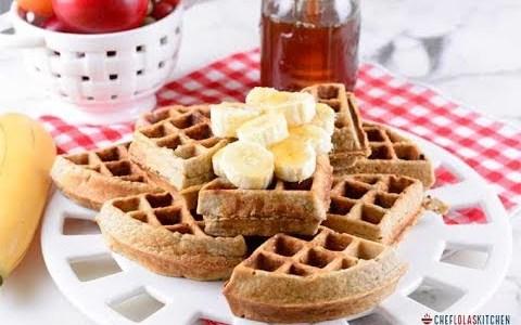 Breakfast Waffles - Super Healthy!