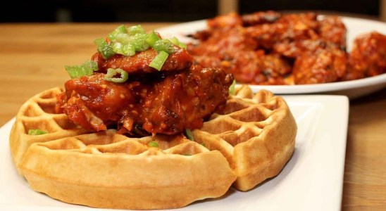 Chicken and Waffles Recipe | How to Make Chicken and Waffles | Homemade Chicken and Waffles