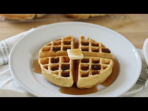 How To Make The Perfect Homemade Waffle Recipe