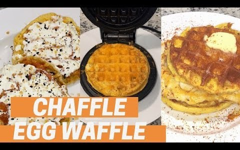 KETO CHAFFLE / EGG WAFFLES / BLOWING UP INSTAGRAM