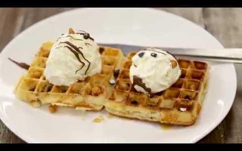 Waffle Recipe | Cafe Style NO EGG Waffles | eggless waffle recipe |