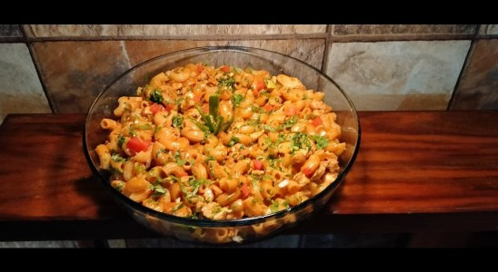 Chicken Macroni  | Softy Corn Waffles Recipe | Lazzat By Skillston / Anex | 16 Dec 19