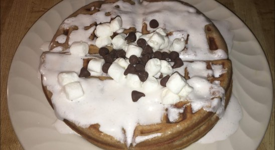 Episode 332: Hot Chocolate Waffles | Hot Cocoa Waffles Recipe