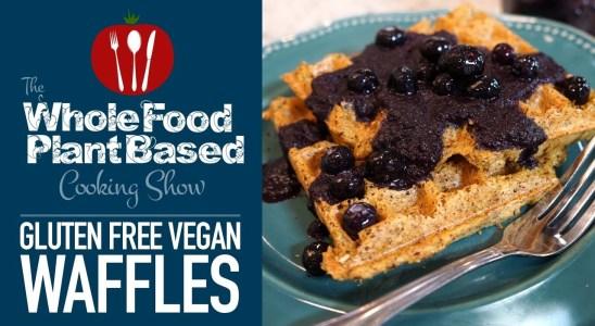 Gluten-Free Vegan Waffles Recipe (WFPB)