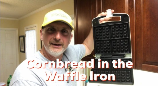 How to Cook Cornbread in a Waffle Iron - Easy Recipe