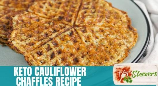 Keto Cauliflower Chaffles | Keto Waffles Recipe