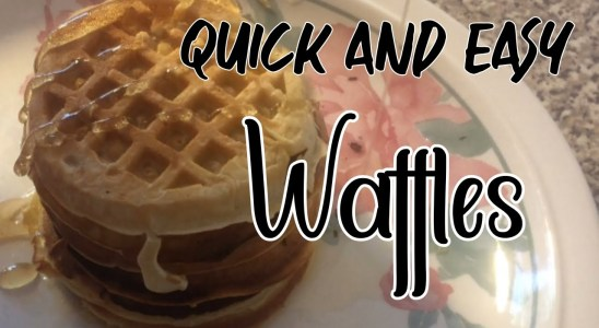 Quick & Easy Waffles Recipe