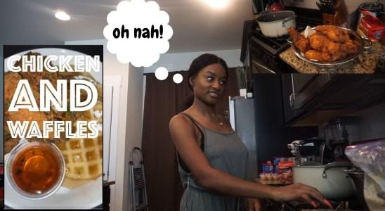 Remaking milktpapi's Chicken & Waffles Recipe