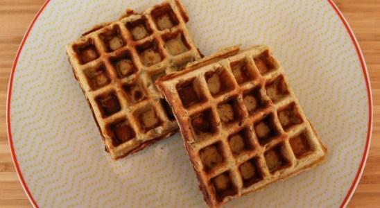 3 Ingredient Gluten Free Banana Waffles Recipe
