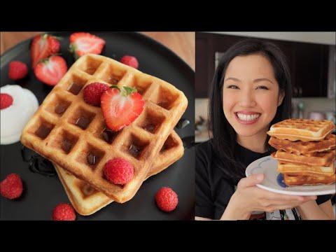 BEST Crispy Waffles I've Ever Had! - Pai's Lockdown Kitchen