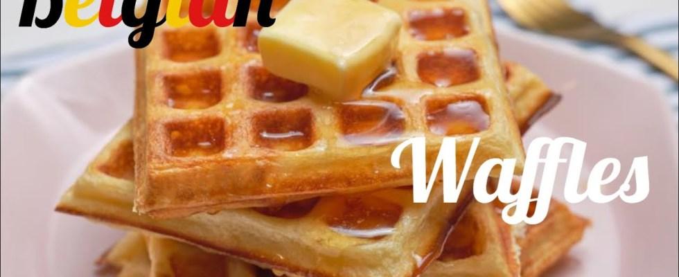 Belgian waffles recipe. -perfect baking
