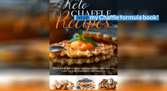Best Reviews - Keto Chaffle Cookbook: Delicious Ketogenic Waffles Recipes to Cook Natural Low C...
