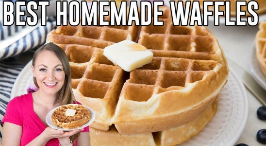 How to Make the BEST Homemade Waffles