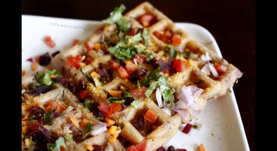 Breakfast Series: Mixed Vegetable Uthappam Waffle Recipe in Collaboration With Prestige TTK