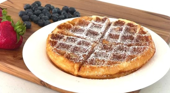 Buttermilk Belgian Waffles Recipe