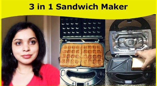 Croma Sandwich Maker 3 in 1 Waffle Grill / Best Sandwich Maker in India / Sandwich Maker Detachable