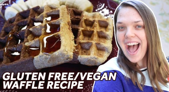 Delicious Chocolate Waffle Recipe \ Vegan and Gluten Free