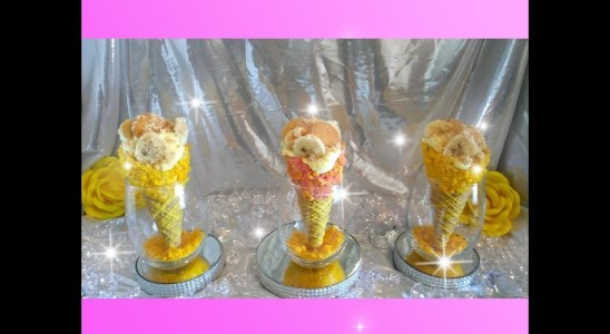 Stuff Waffle Cones..Best Instant Banana Pudding Recipe Ever..