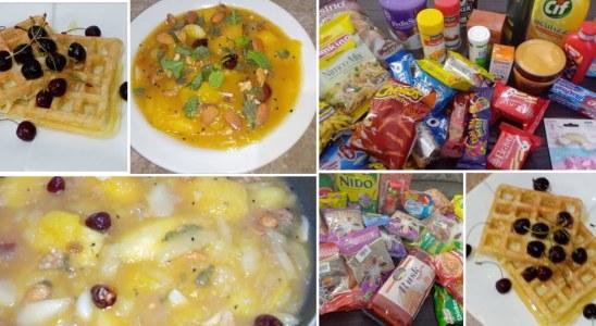 Yummy Waffles Easy Breakfast Recipe || Khati Meethi Kari Ki Chatni Ki Recipes  || Quick Grocery Haul
