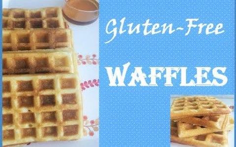 GlutenFree Waffles - Easy & Simple Breakfast Recipe that kids would love