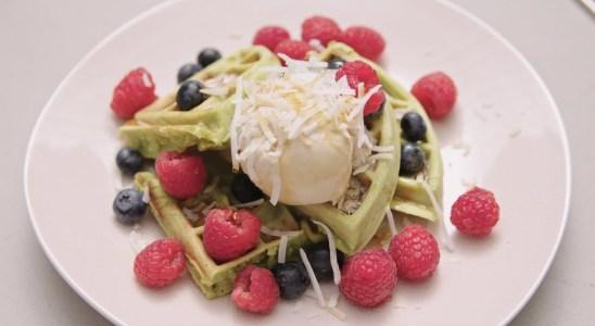 How to Make Vegan Pandan Waffles |  Recipe | Easy To Cook