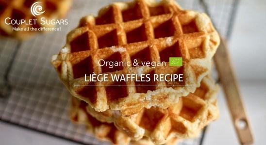 Organic and vegan Liege waffles recipe - Pearl sugar & waffle mix
