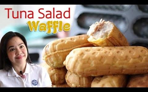 Recipe Negosyo TUNA SALAD Filipino Style Waffle | ASG