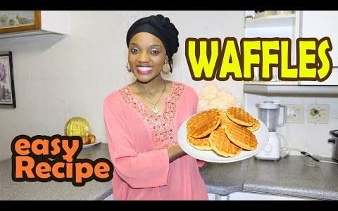 Best Homemade Waffles Recipe| Recette de Gaufres | Recette Galettes| by Gabrielle Ntumba Kan