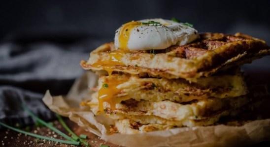 Cauliflower Waffles - Keto Recipes