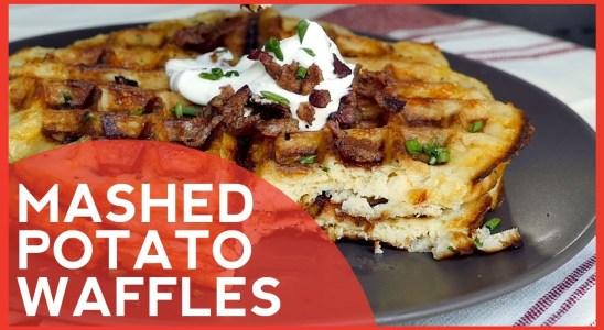 How to Make: Mashed Potato Waffles