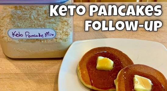 Keto Pancakes Follow-up: Recipe Scaling, Bulk Mix, and Waffles