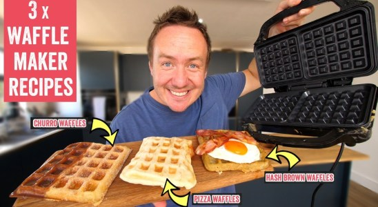 Lets try out a waffle maker! - 3 amazing waffle recipes