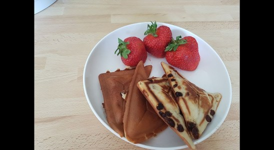 Solf and delicious  Waffles recipe