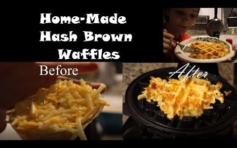Easy, Delicious, Hash Brown Waffles!!!