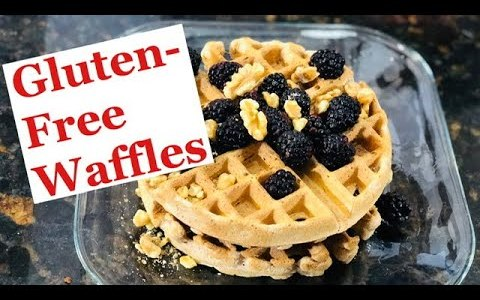 How to make Homemade Gluten Free Waffles Recipe...(ABSOLUTELY IMMUNE BOOSTING!!)