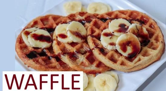 Perfect Waffle Crispy & Fluffy  |Belgian Waffle Recipe | Easy Banana Waffle | MasalaWali