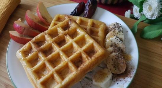 A Delightful Breakfast | Waffles recipe | Silent Vlog | Slow Living