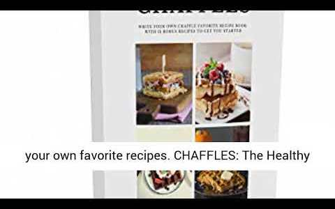 "Dash MINI 4"" Waffle Iron With The Best Keto Chaffle Recipe Book and Journal by Charmed"