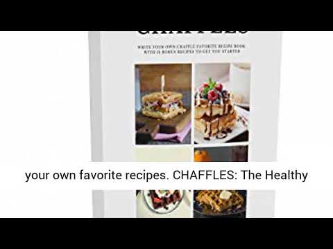 """Dash MINI 4"""" Waffle Iron With The Best Keto Chaffle Recipe Book and Journal by Charmed"""