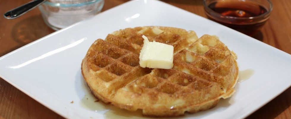 How to Make Waffles   Jackie Kennedy Amazing Homemade Waffle Recipe