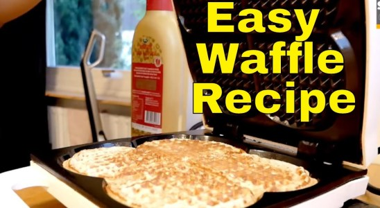 I Make Breakfast Quick and Easy Waffle Recipe By Tashify