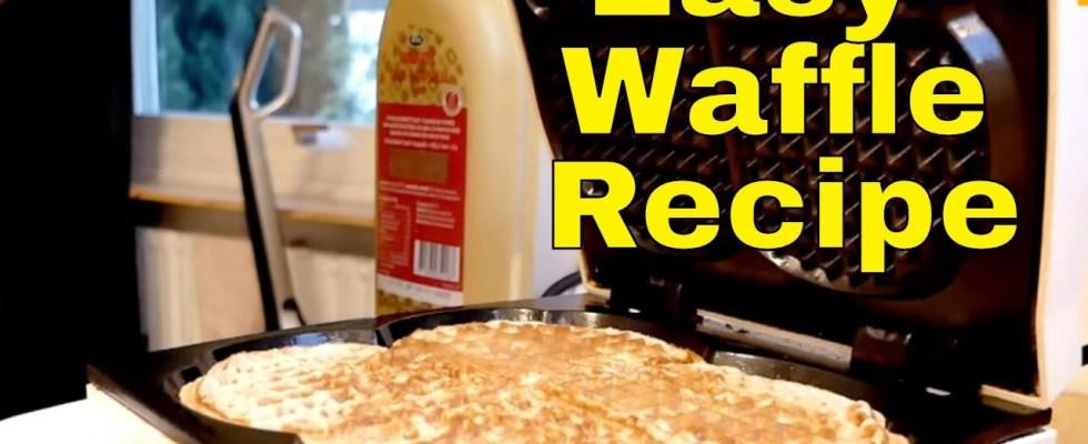 I Make Breakfast Quick and Easy Waffle Recipe By Tashify
