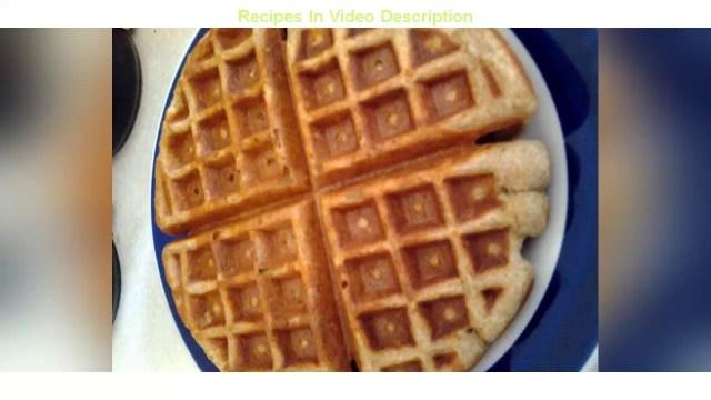 Recipe: Tasty Whole wheat waffles