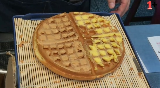 Types of waffles | Street Food | Oneplus Studio