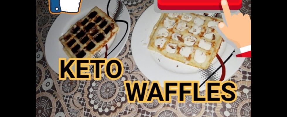 #ketobreakfast   Keto Waffles   How to make Keto Coconut Flour Waffles