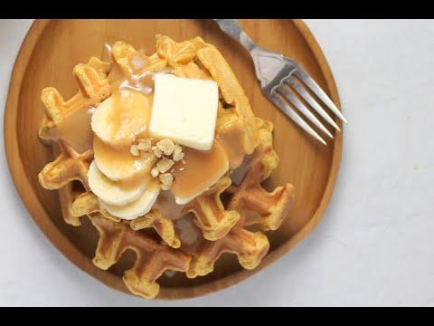 Best Ever Pumpkin Waffle Recipe