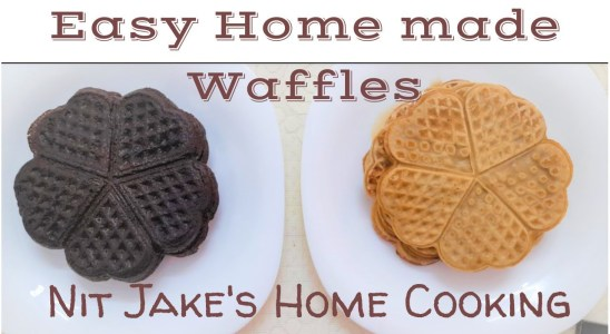 Easy Home made healthy Waffles | Waffle recipe | Malayalam | Nit's Jake's Home Cooking |