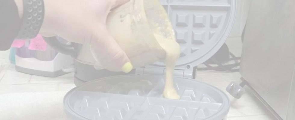 Easy Protein Waffles Recipe!! | FitnessBeautyHealth 2018